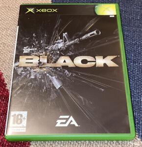 Black (Microsoft Xbox, 2006) PAL Complete - Retro Shooting