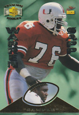 Warren Sapp 1995 Signature Rookies RC football trading card R6