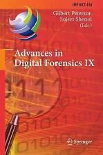 Advances in Digital Forensics IX: 9th IFIP WG 11.9 International Conference on D