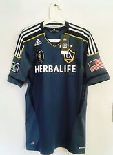 2012-13 LA GALAXY AWAY TECHFIT PLAYER ISSUE SHIRT SIZE 6 OR 8