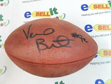 Vernon Butler Carolina Panthers - Autographed Full Size Wilson football with COA