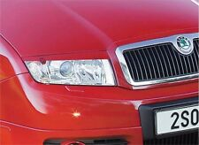 Cilia head lights Headlights eyebrows Skoda Fabia (2000-2007)