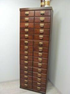Antiker Schubladenschrank, Apothekerschrank,Kommode,Industriedesign,Vintage