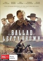 The Ballad Of Lefty Brown DVD : NEW