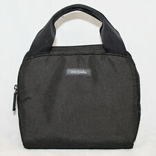 VERA BRADLEY Lunch Cooler Bag Insulated Zip Top in Black