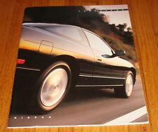 Original 1992 Nissan 240SX Deluxe Sales Brochure Coupe Fastback SE LE