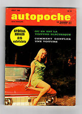 ► AUTOPOCHE N°16 - 1969  PONTIAC FIREBIRD - OPEL GT - NSU TT - LOTUS - MATRA R12