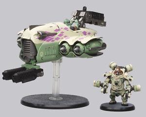AT-43 Guru Lucius and Diamond Karmans Hero Box W/ 2 Miniatures