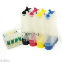 Empty Refill Ink CISS CIS alternative for Workforce WF40 600 610 615 NX415