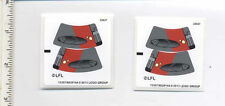 LEGO x2 Sticker for Set 75001 (13357/6029144) Republic Troopers vs. Sith Trooper