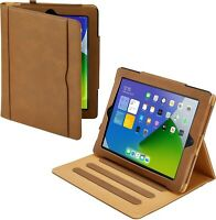 """iPad Case 10.2"""" 8th Generation Soft Leather Smart Cover Wallet for Apple 2020"""