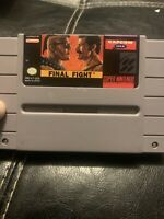 Final Fight Super Nintendo Entertainment System SNES Authentic Cartridge Tested