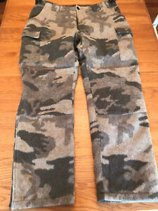 Cabela's Outfitter Camo Wooltimate Hunting Pants 38x32