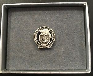 Canadian Pacific Railway CPR Sterling Silver 25 Year Pin