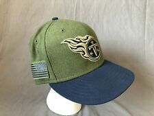 KTZ Men's Green Tennessee Titans Sgt Patch 9fifty Snapback Cap
