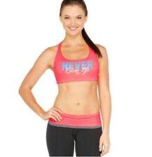 Lorna Jane Womens Sports Bra Fitness Yoga Crop Tops Workout Padded Bra Size M/12