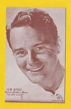 ACTORS  -  POSTCARD  -  WESTERNS  /  COWBOY  FILMS  -  LEW  AYRES
