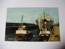 E235 - CANADIAN PACIFIC - EMPRESS of BRITAIN at Gladstone Dock Postcard