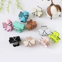 Mini Fashion Ladies Small Women Candy Color Hair Claw Clamp Hairpins Hair Clip