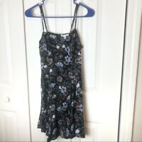 American Eagle Floral Sundress Back Cutout Size Small