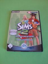 Die Sims 2: Wilde Campus-Jahre (PC, 2009, DVD-Box)