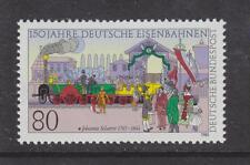 1985 WEST GERMANY MNH STAMP DEUTSCHE BUNDESPOST GERMAN RAILWAYS  SG 2112