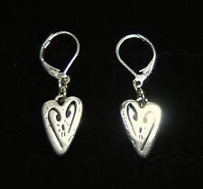 Brand New BRIGHTON Euro wire Brazilian BAHIA HEARTS earrings  FREE SHIPPING !!