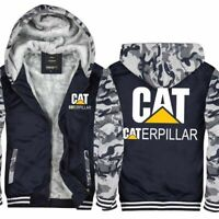 Newest Caterpillar Power Thicken Hoodie zip up Coat Winter Jacket Sweater coat