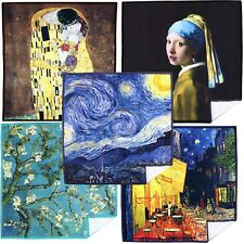 LARGE [5 Pack] World Best Classic Art Collection-Lens Cleaning Cloth(Microfiber)