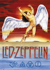 LED ZEPPELIN - SWAN SONG MUSIC POSTER - 24 x 36 BAND 30875