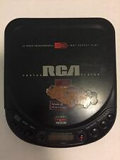 RCA Portable Cd Player RP 7826A Car Disc Player Tested