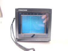 "RARE VINTAGE FERGUSON 3"" LCD COLOUR POCKET TV PTV02"
