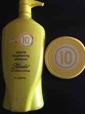 Its a 10 miracle brightening shampoo for blondes 33.8 / Clay Hair Mask 8 oz New