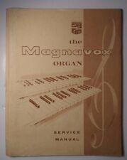Magnavox Organ Service Manual Model 1A10 and 1B10