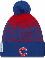 Mens- Chicago Cubs Hat , One size fits most, color: Blue & Red