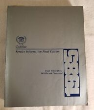 car truck service repair manuals for cadillac ebay rh ebay com 2013 Cadillac Allante Caddy Allante