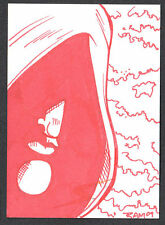 PROJECT SUPERPOWERS (Breygent/2011) SKETCH CARD by RICH MOLINELLI #48/100