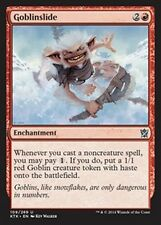 MTG Magic KTK FOIL - Goblinslide/Avalanche de gobelins, English/VO