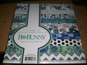PAPERBLOCK BO BUNNY/36 SHEETS/6X6 INCH/1 SIDE/ NEW (A)