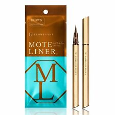 FLOWFUSHI MOTE LINER Liquid Eyeliner from Japan Brown