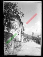 PRL) CORLAGA BAGNONE LUNIGIANA LASTRA VETRO ORIGINAL POSTAL CARD 8948 MASSA 1960