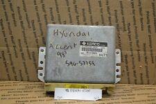 1998 Hyundai Accent Engine Control Unit ECU 3911026231 Module 564-6C2
