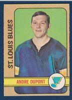 ANDRE DUPONT 72-73 O-PEE-CHEE 1972-73 NO 16 NRMINT+