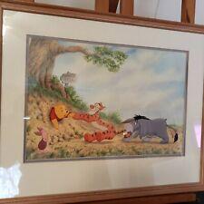 Disney 100 Acre Wood Winnie the Pooh Illustration Print