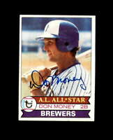 Don Money Hand Signed 1979 Topps Milwaukee Brewers Autograph