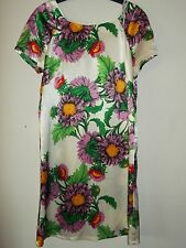Primark Cream Floral Dress Size 12 - New With Tags