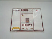 1999 Hersheys kitchen collection recipe card booklet, magnet, blank cards, paper