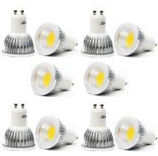 10PCS/pack GU10 6W CREE COB LED spot Light Bulb Downlight lamps silver Warm WH