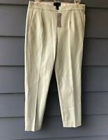J. Crew Light Green NWT Martie Pants Sz 2 (C2)
