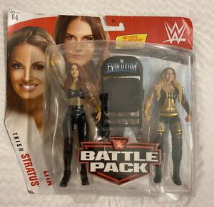 WWE Wrestling Battle Pack Series 64 Lita Trish Stratus Action Figure 2-Pack